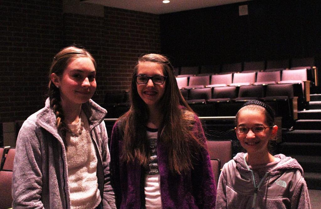 Meg, Lilla, Lauren